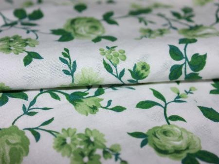 255Пп. Крупные зеленые розы