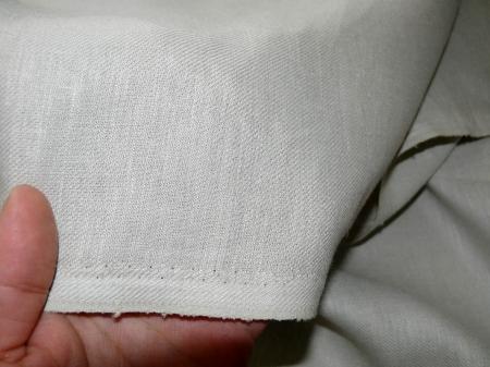 Льняная ткань: 24Л. Серебристо-серый, костюмный лен.