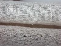 Льняная ткань: 69Л. Бежевая сетка, лен для декорирования.
