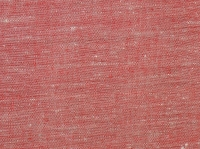 Льняная ткань: 46Л. Серо-красный, плотный лен.