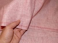 Льняная ткань: 88Л. Розовый джинс.
