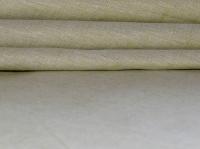 Натуральные полульняные ткани: 80П. Бежево-зеленый постельный, полулен.