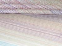 Натуральные полульняные ткани: 84П. Розово-фиолетовая полоска, полульняная пёстроткань.