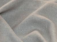 Льняная ткань: 22П. Светло-серый, мягкий костюмный лён.