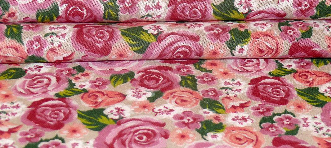 Хлопковые ткани разного узора и окраски